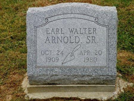 ARNOLD, EARL WALTER - Champaign County, Ohio   EARL WALTER ARNOLD - Ohio Gravestone Photos