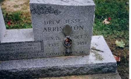 ARRINGTON, DREW JESSE - Champaign County, Ohio   DREW JESSE ARRINGTON - Ohio Gravestone Photos