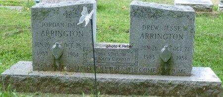 ARRINGTON, DREW JESSE - Champaign County, Ohio | DREW JESSE ARRINGTON - Ohio Gravestone Photos