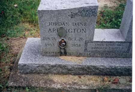 ARRINGTON, JORDEN DANE - Champaign County, Ohio | JORDEN DANE ARRINGTON - Ohio Gravestone Photos