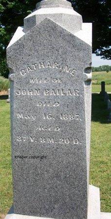 BAILAR, CATHERINE - Champaign County, Ohio | CATHERINE BAILAR - Ohio Gravestone Photos