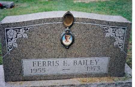 BAILEY, FERRIS E. - Champaign County, Ohio | FERRIS E. BAILEY - Ohio Gravestone Photos
