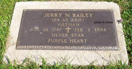 BAILEY, JERRY NEAL - Champaign County, Ohio | JERRY NEAL BAILEY - Ohio Gravestone Photos