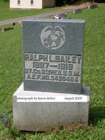 BAILEY, RALPH LOUDENBACK - Champaign County, Ohio | RALPH LOUDENBACK BAILEY - Ohio Gravestone Photos