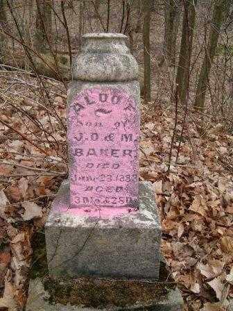 BAKER, ALDOF - Champaign County, Ohio | ALDOF BAKER - Ohio Gravestone Photos