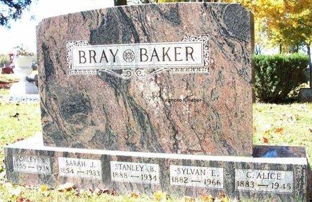 BRAY BAKER, CHOLE ALICE - Champaign County, Ohio | CHOLE ALICE BRAY BAKER - Ohio Gravestone Photos