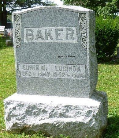 BAKER, EDWIN MELVIN - Champaign County, Ohio   EDWIN MELVIN BAKER - Ohio Gravestone Photos