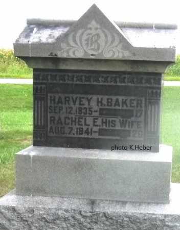 BAKER, HARVEY HUMPHRUS - Champaign County, Ohio | HARVEY HUMPHRUS BAKER - Ohio Gravestone Photos