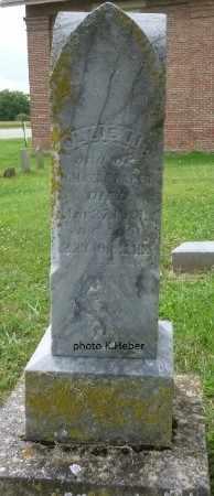 BAKER, OLLIE M - Champaign County, Ohio | OLLIE M BAKER - Ohio Gravestone Photos