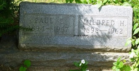 BAKER, PAUL EVERETT - Champaign County, Ohio   PAUL EVERETT BAKER - Ohio Gravestone Photos