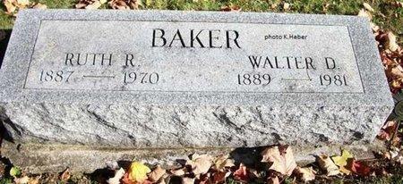 SHAFFER BAKER, RUTH R - Champaign County, Ohio   RUTH R SHAFFER BAKER - Ohio Gravestone Photos