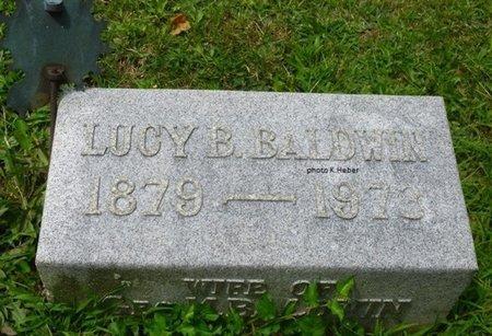 BRECOUNT BALDWIN, LUCY - Champaign County, Ohio   LUCY BRECOUNT BALDWIN - Ohio Gravestone Photos