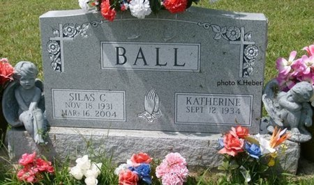 BALL, KATHERINE - Champaign County, Ohio | KATHERINE BALL - Ohio Gravestone Photos