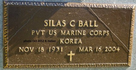 BALL, SILAS C - Champaign County, Ohio | SILAS C BALL - Ohio Gravestone Photos