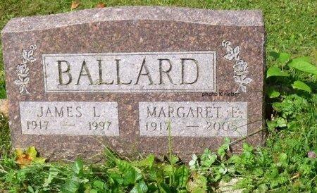 BALLARD, JAMES LESLIE - Champaign County, Ohio | JAMES LESLIE BALLARD - Ohio Gravestone Photos