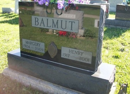 BALMUT, MARGERY LOUISE - Champaign County, Ohio | MARGERY LOUISE BALMUT - Ohio Gravestone Photos