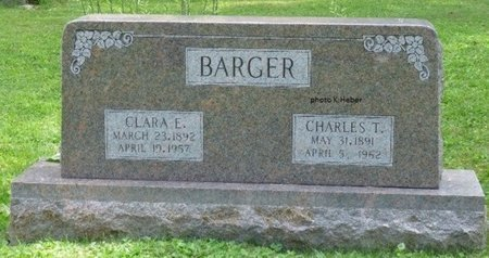 BARGER, CHARLES TAYLOR - Champaign County, Ohio | CHARLES TAYLOR BARGER - Ohio Gravestone Photos