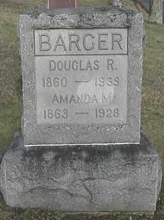 BARGER, AMANDA MAGDALINE - Champaign County, Ohio | AMANDA MAGDALINE BARGER - Ohio Gravestone Photos