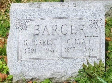 BARGER, CLETA FERN - Champaign County, Ohio | CLETA FERN BARGER - Ohio Gravestone Photos