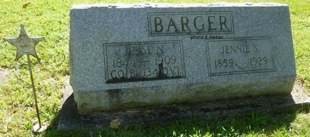BARGER, JESSE NEER - Champaign County, Ohio   JESSE NEER BARGER - Ohio Gravestone Photos
