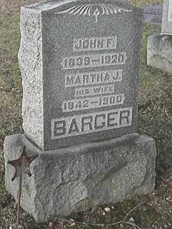 BARGER, JOHN F. - Champaign County, Ohio | JOHN F. BARGER - Ohio Gravestone Photos