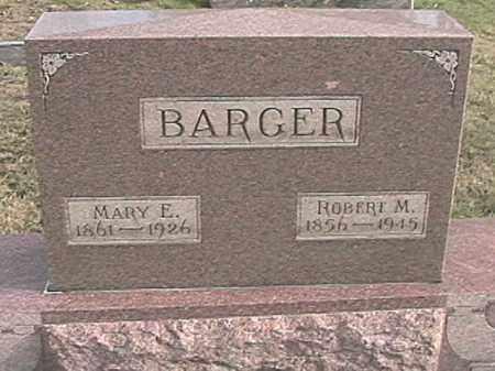 BARGER, MARY ELLEN - Champaign County, Ohio | MARY ELLEN BARGER - Ohio Gravestone Photos