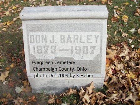 BARLEY, DON JAY - Champaign County, Ohio | DON JAY BARLEY - Ohio Gravestone Photos