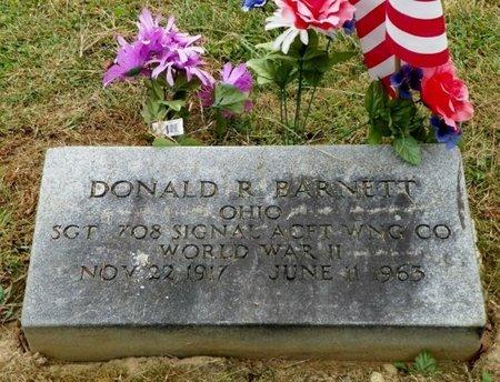 BARNETT, DONALD R. - Champaign County, Ohio   DONALD R. BARNETT - Ohio Gravestone Photos