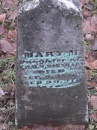 BARNHART, MARY M. - Champaign County, Ohio   MARY M. BARNHART - Ohio Gravestone Photos