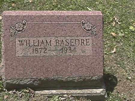 BASEORE, WILLIAM JACOB - Champaign County, Ohio | WILLIAM JACOB BASEORE - Ohio Gravestone Photos