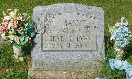 "BASYE, JACK ALLEN ""JACKIE"" - Champaign County, Ohio | JACK ALLEN ""JACKIE"" BASYE - Ohio Gravestone Photos"