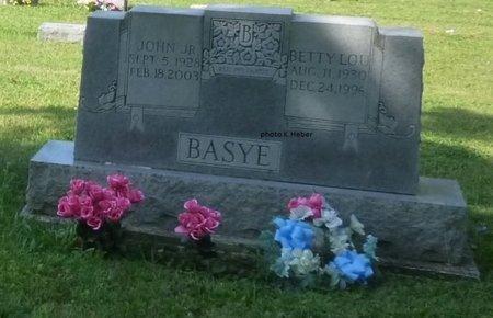 BASYE, BETTY LOU - Champaign County, Ohio | BETTY LOU BASYE - Ohio Gravestone Photos