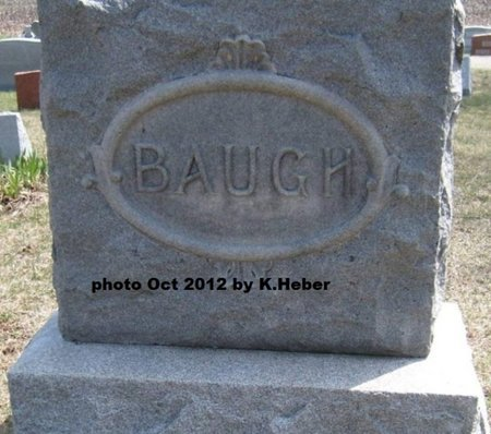 BAUGH, MONUMENT - Champaign County, Ohio | MONUMENT BAUGH - Ohio Gravestone Photos