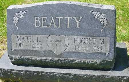 BEATTY, MABEL ELLEN - Champaign County, Ohio | MABEL ELLEN BEATTY - Ohio Gravestone Photos
