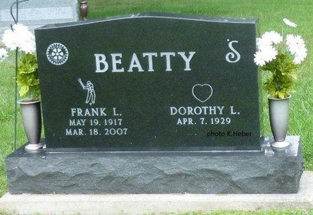 BEATTY, DOROTHY L - Champaign County, Ohio | DOROTHY L BEATTY - Ohio Gravestone Photos