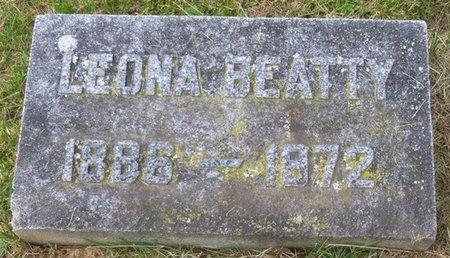 BEATTY, LEONA - Champaign County, Ohio | LEONA BEATTY - Ohio Gravestone Photos