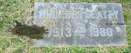BEATTY, WINIFRED - Champaign County, Ohio | WINIFRED BEATTY - Ohio Gravestone Photos