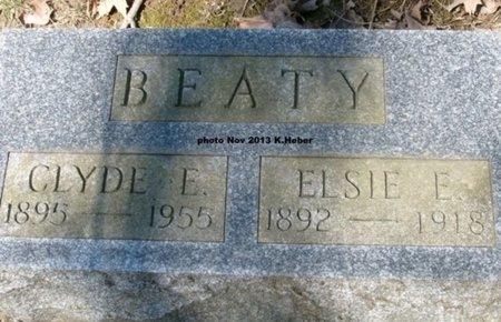 BEATY, CLYDE EMERSON - Champaign County, Ohio | CLYDE EMERSON BEATY - Ohio Gravestone Photos
