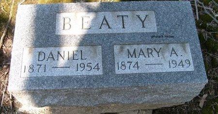 BEATY, DANIEL - Champaign County, Ohio | DANIEL BEATY - Ohio Gravestone Photos