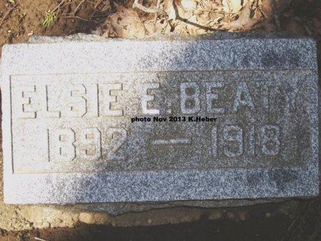 BEATY, ELSIE ELVA - Champaign County, Ohio   ELSIE ELVA BEATY - Ohio Gravestone Photos