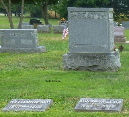 BEATY, MONUMENT - Champaign County, Ohio | MONUMENT BEATY - Ohio Gravestone Photos