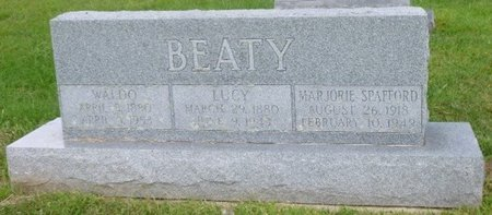 """BEATY, LUCILE """"LUCY"""" - Champaign County, Ohio 