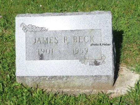 BECK, JAMES R - Champaign County, Ohio | JAMES R BECK - Ohio Gravestone Photos