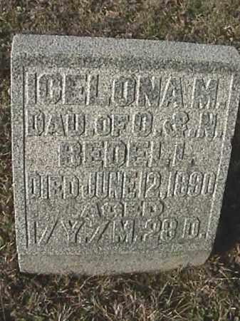 BEDELL, ICELONA M - Champaign County, Ohio   ICELONA M BEDELL - Ohio Gravestone Photos