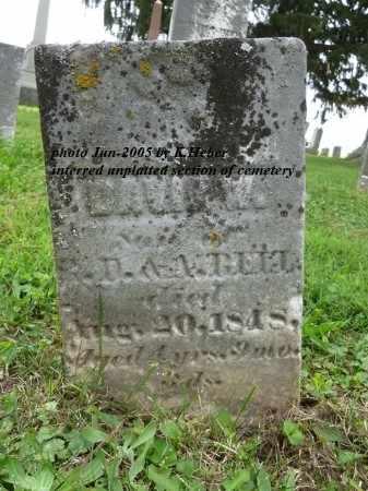 BELL, DAVID W - Champaign County, Ohio | DAVID W BELL - Ohio Gravestone Photos