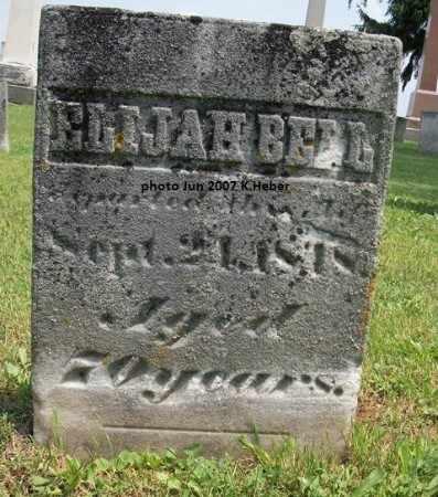 BELL, ELIJAH - Champaign County, Ohio | ELIJAH BELL - Ohio Gravestone Photos