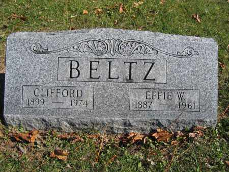 BELTZ, EFFIE W. - Champaign County, Ohio | EFFIE W. BELTZ - Ohio Gravestone Photos