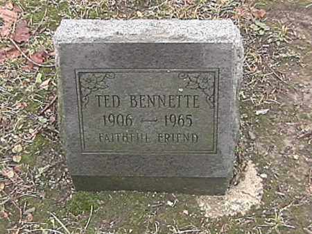 BENNETTE, TED - Champaign County, Ohio | TED BENNETTE - Ohio Gravestone Photos
