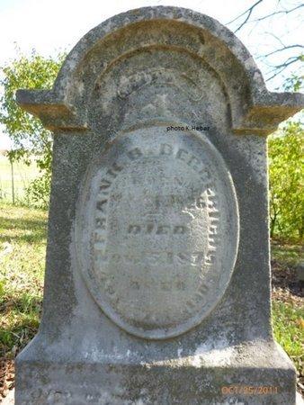 BERBERICH, FRANK B - Champaign County, Ohio | FRANK B BERBERICH - Ohio Gravestone Photos