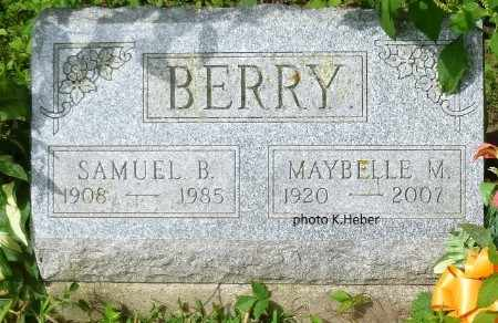 BERRY, SAMUEL BENTON - Champaign County, Ohio | SAMUEL BENTON BERRY - Ohio Gravestone Photos